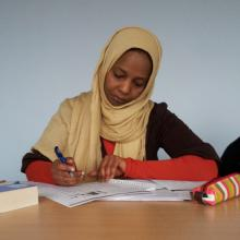 Mona - a student that took a long journey from Sudan